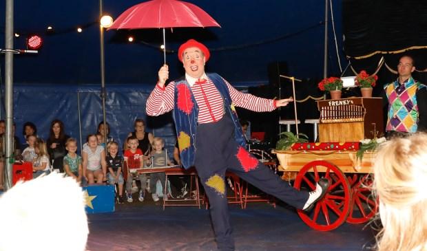 • Jong en oud genoot van de voorstelling van Circus Alexander.
