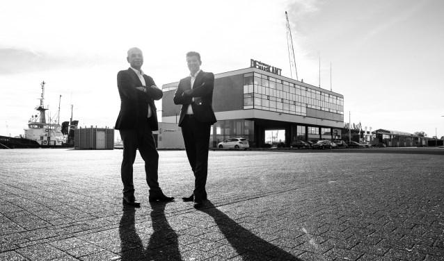 • Daan van der Vorm (links) en Hans Meurs.
