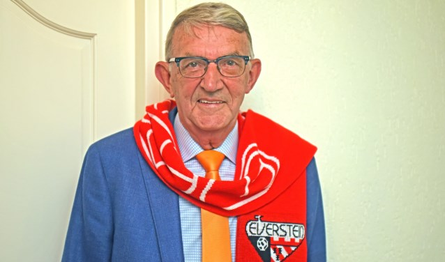 • Arie van Vuren is nu alleen nog supporter van SC Everstein.