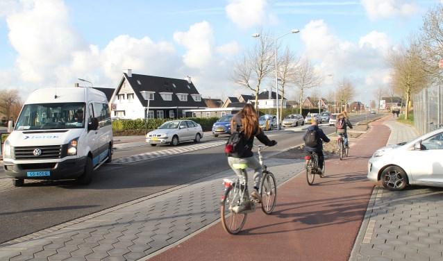• De kruising van de Oude Torenweg met de Vinkenpolderweg.