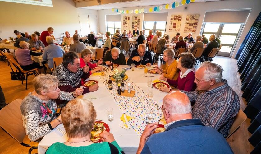 Diner ter gelegenheid van 60 jaar Krooshof, Zijderveld