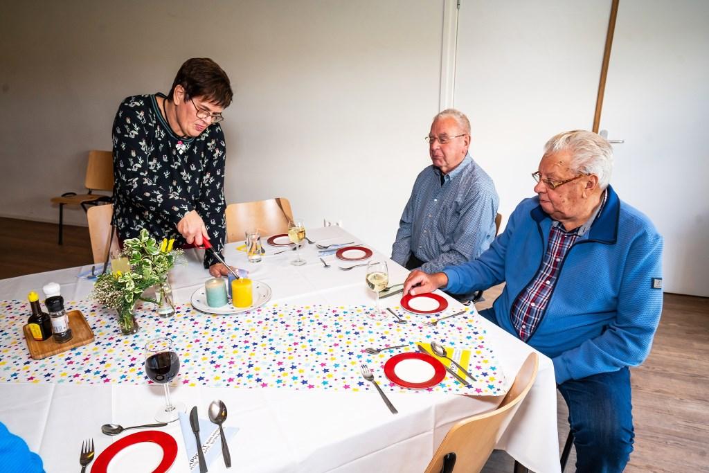 Diner ter gelegenheid van 60 jaar Krooshof, Zijderveld Foto: Nico Van Ganzewinkel © Vianen