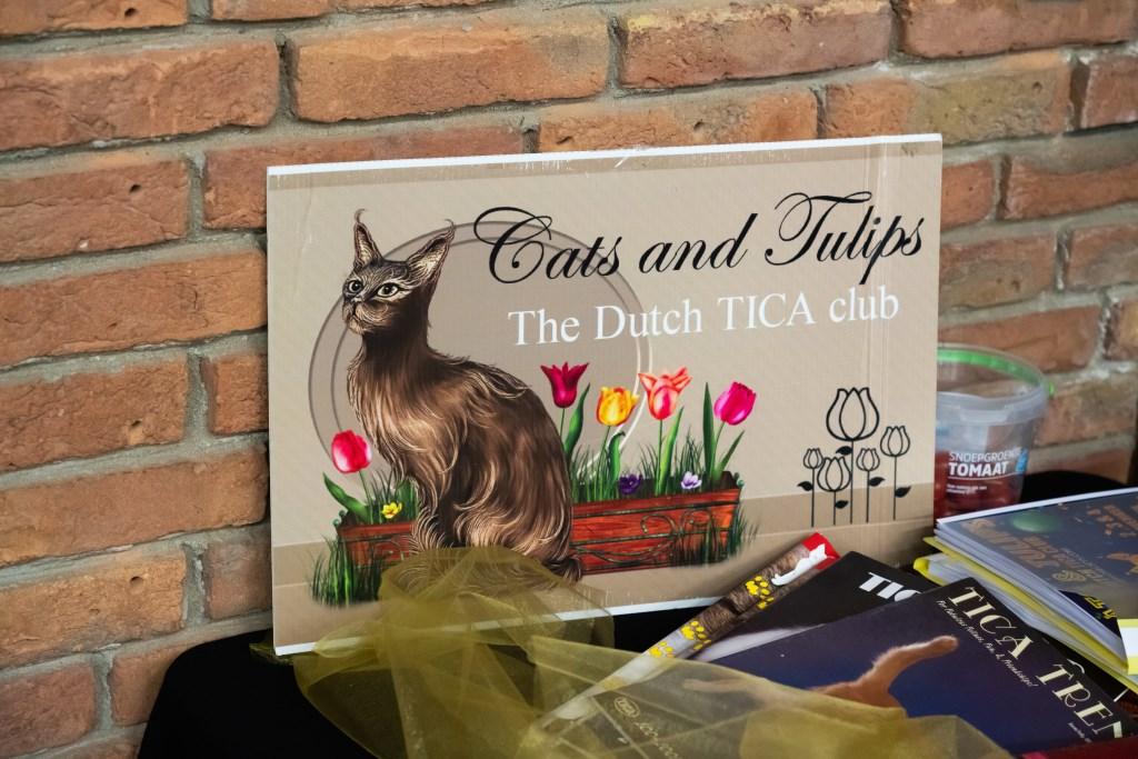 Cats & Tulips in Asperen Foto: Nico Van Ganzewinkel © Leerdam