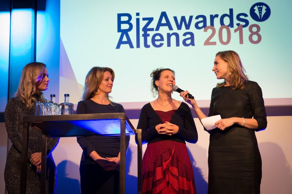 De genomineerde starters van het jaar: Gerlinda van der Stelt, Sandy Spiering en Lonneke Kikkert.  Foto: Marijke Verhoef / Het Kontakt © Het Kontakt