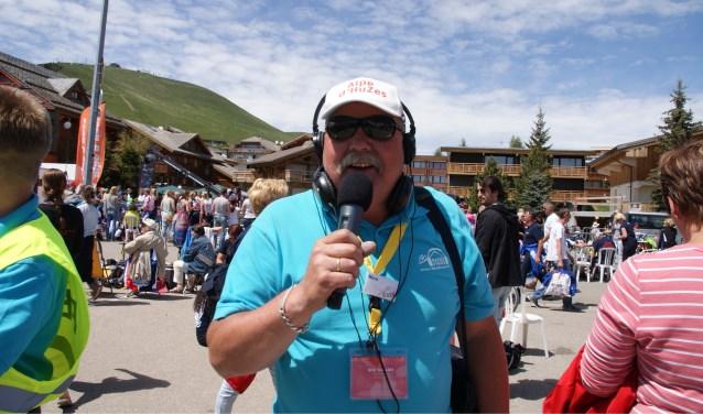 • Nico Dullaart, één van de gezichten van Radio d'HuZes. Volgend jaar juni is hij vrijwel zeker weer present tijdens Alpe d'HuZes, maar dan onder de noemer van RTV Krimpenerwaard.