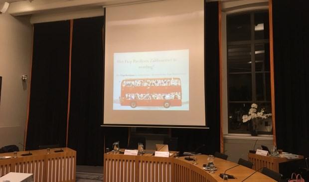 • Stichting Fiep Paviljoen presenteerde de plannen voor het paviljoen donderdagavond voorafgaand aan de carrouselvergadering.