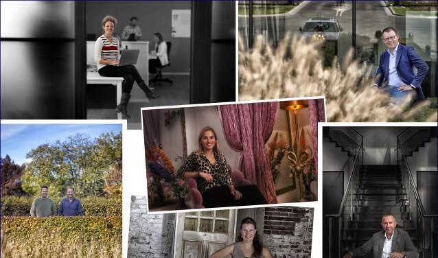 De zeven finalisten van de BizAwards dit jaar.