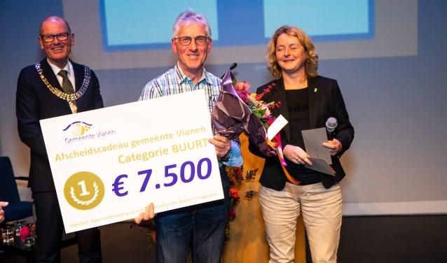• Cees Hazekamp van stichting Hagestein Vitaal won de prijs in de categorie buurt.