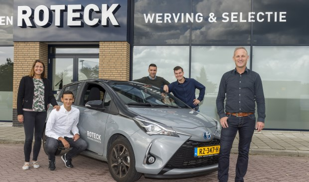• Het team van Roteck Personeelsdiensten.