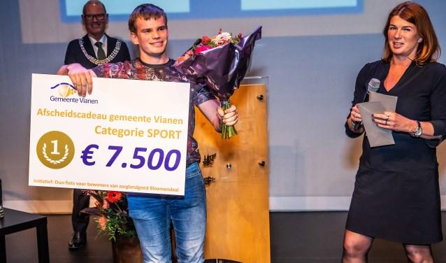 • De winst in de categorie ging naar stichting De Iris.  Foto: Nico Van Ganzewinkel © Vianen
