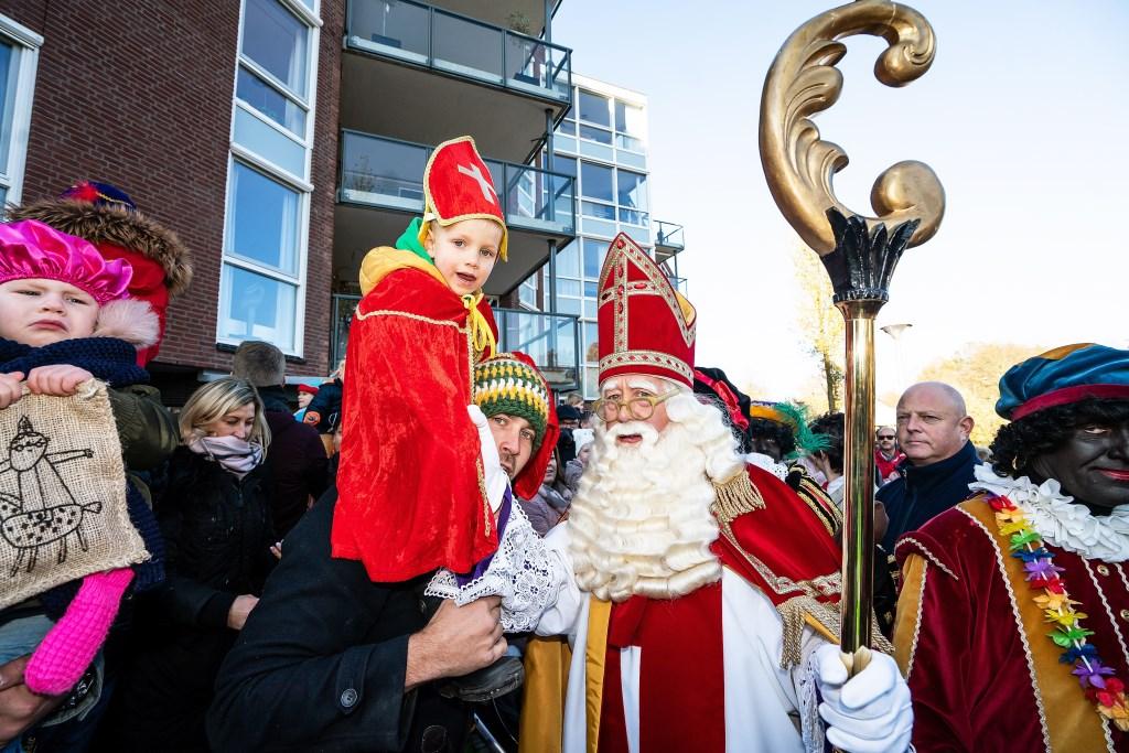 Aankomst Sint Nicolaas en zijn Pieten in Vrijstad Vianen Foto: Nico Van Ganzewinkel © Vianen