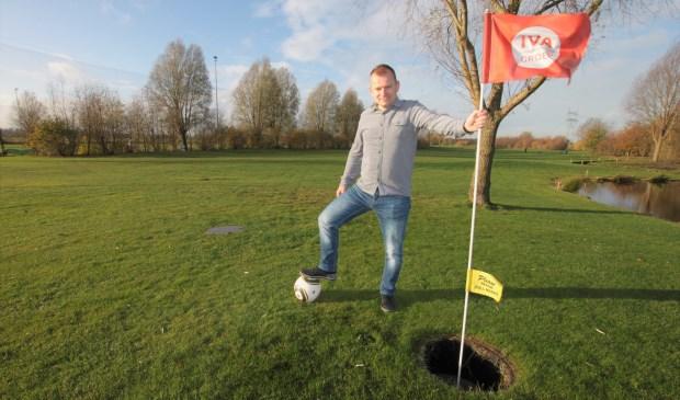 • Jan-Willem Baas op golfbaan Crimpenerhout in Krimpen aan de Lek.