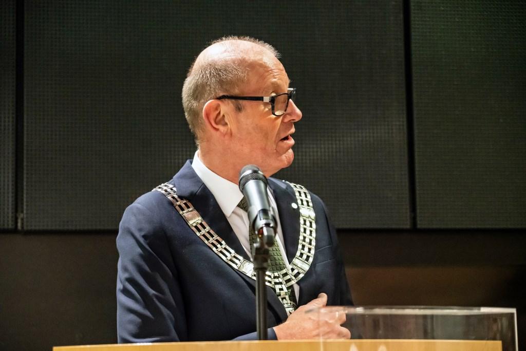 Afscheidsreceptie college van burgemeester en wethouders gemeente Vianen Foto: Nico Van Ganzewinkel © Vianen