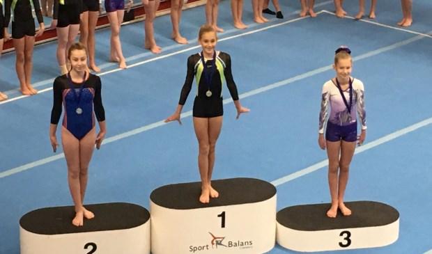 • Roosmarijn Groeneveld won in de zesde divisie het brons. Foto: aangeleverd © Bommelerwaard