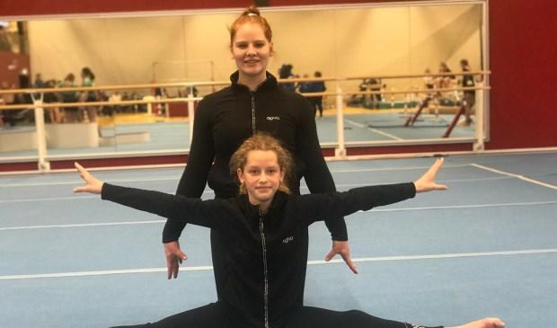 • Emma Wonnink en Sanne van Liempd.
