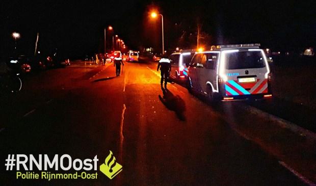 • De politie rukte uit vanwege overlast van feestvierders in Krimpen aan den IJssel.