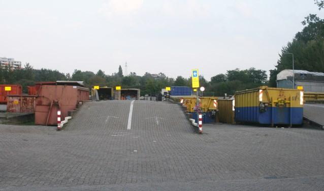 • De oude gemeentewerf aan de Willem Dreeslaan.
