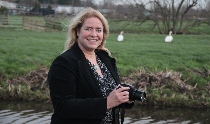 • De Stolwijkse dierenbeschermster Saskia van Rooy.
