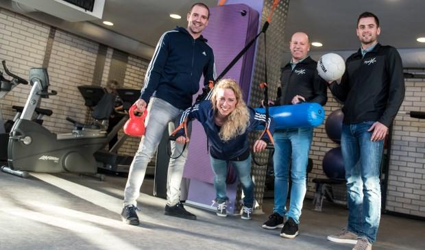 Het team van Sportschool Health Challenge in Herwijnen.