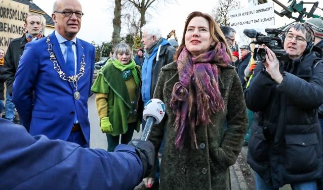 • Vereniging Waalzinnig plant een protestactie tijdens bezoek minister van Infrastructuur en Waterstaat