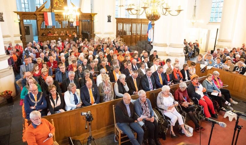 5e Oranjeconcert in Grote Kerk Vianen
