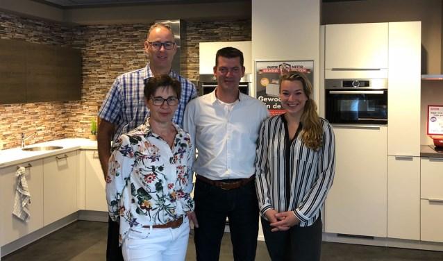 Het team van Reddy Keukens in Veen.