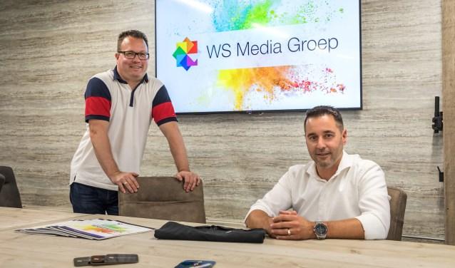 • Walter Cleton (l) en John van Wijk in het bedrijf in Waardenburg.