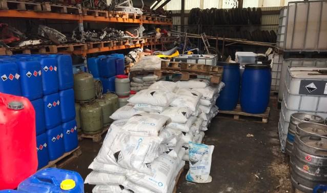 • Het drugslab aan de Veilingweg werd op 16 april ontmanteld. De schade door de verontreiniging bedraagt waarschijnlijk rond de 200.000 euro.