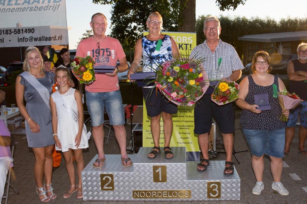 De winnaars van 2018. Foto: Marijke Verhoef / Het Kontakt © Alblasserwaard