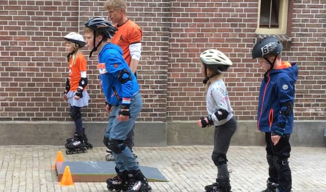 skeelerclinic Koningsdag 2018 Doelenplein Schoonhoven