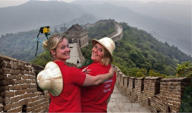 • Tijdens de speelweek wordt ook een bezoekje aan China gebracht.