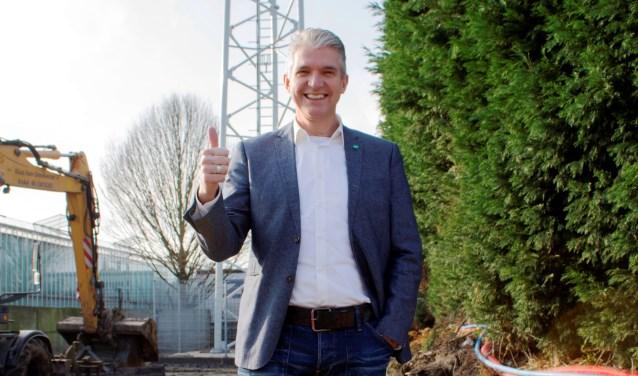 • Jaco Melse (CDA) heeft zich de afgelopen jaren onder meer hard gemaakt voor een beter mobiel bereik in de buitengebieden.