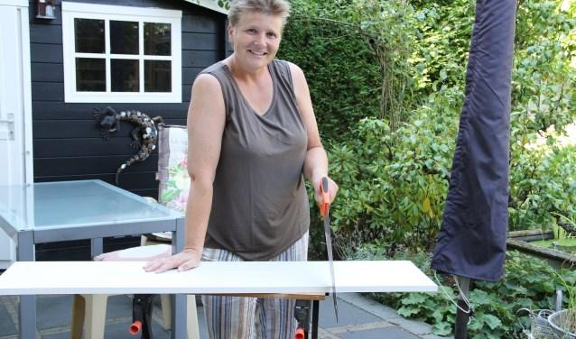 • Linda maakte een ontwerp voor een tiny house dat ze ook zelf kan bouwen.