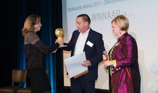 Joan Hanegraaf van Oerlemans Plastics was vorig jaar een van de winnaars.