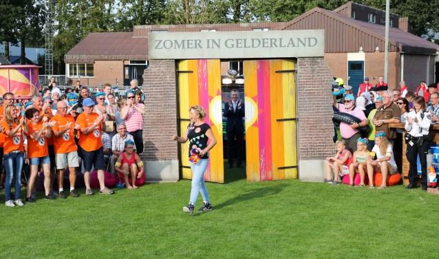 • Zomer 2017: Omroep Gelderland in Gameren.