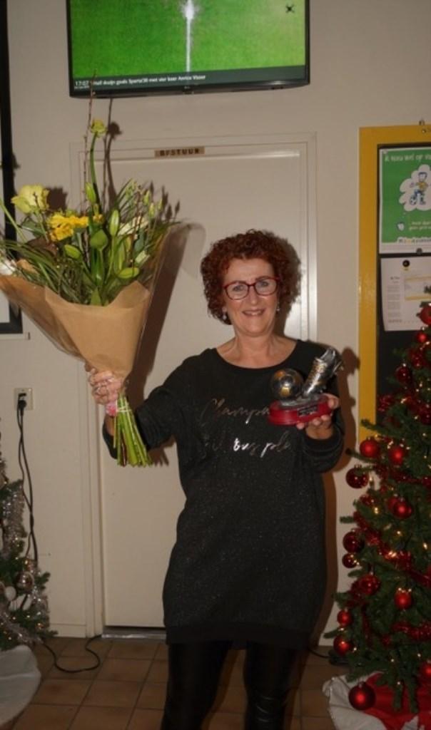 Vrijwilliger van het jaar 2018: Ina de Fijter-Sonneveld.  © Heusden en Altena