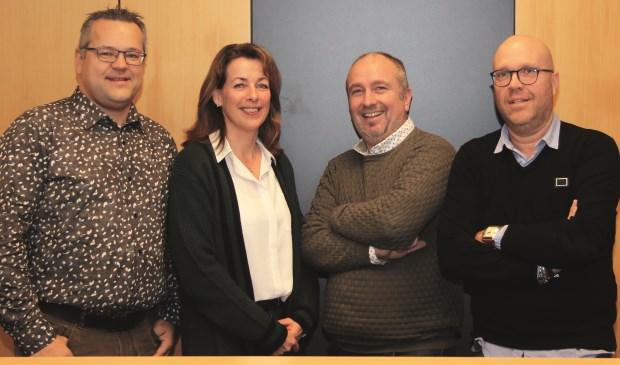 Het vernieuwde team van Geld & Gezin Altena.