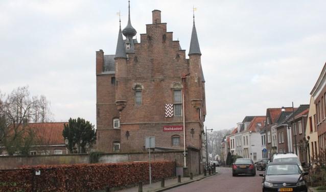 • Stichting Fiep Paviljoen wilde het paviljoen het liefst naast Museum Stadskasteel bouwen.