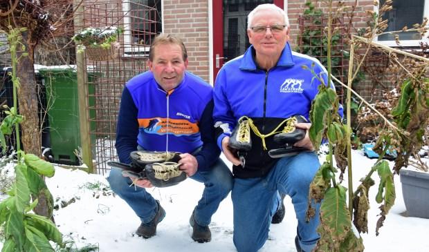 • Jan Faay en Sjaak Sterrenburg zijn er weer bij op de Weissensee.