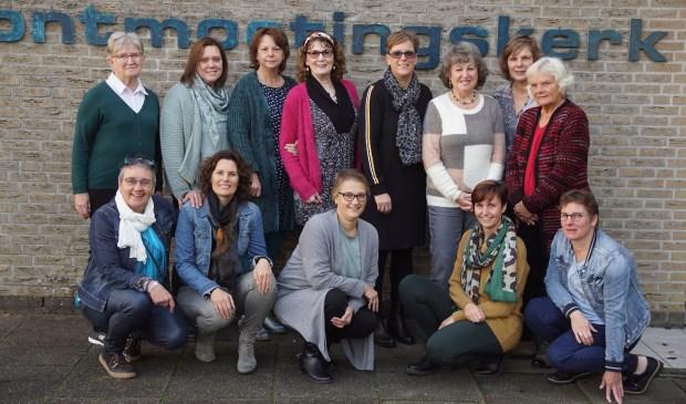 • De organisatoren van de Interkerkelijk vrouwenochtend in Alblasserdam.