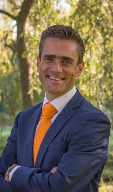 • Arrèn van Tienhoven, de nieuwe fractievoorzitter van de SGP in Krimpen aan den IJssel.