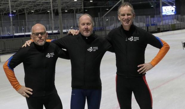 • Het team, met v.l.n.r. Henk Vlot, Henk Swijnenburg, Krijn Donk.