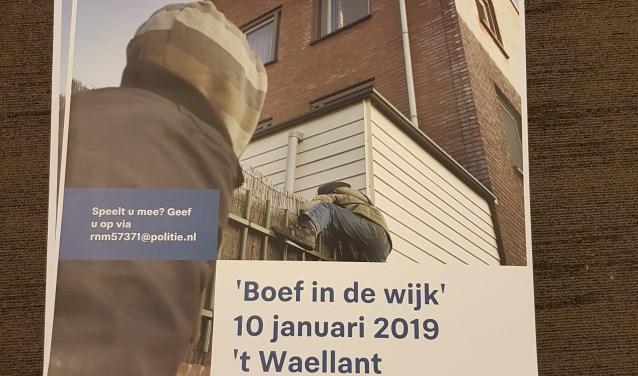 Poster Boef in de Wijk campagne