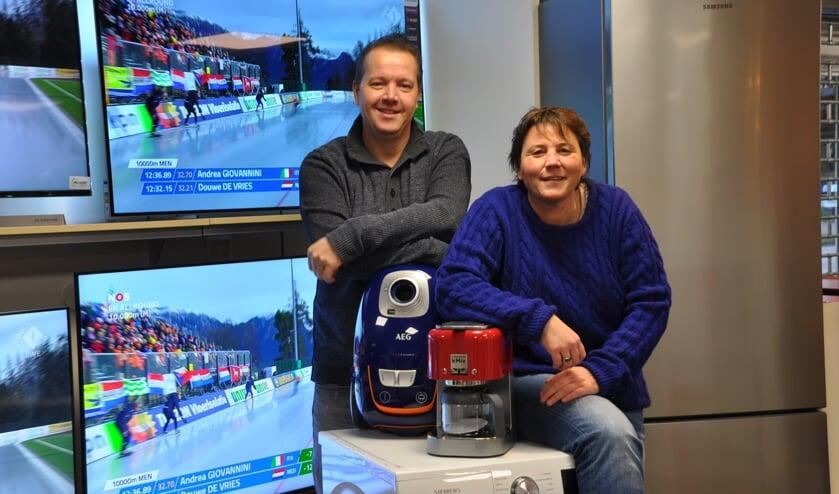 Richard Bouman en Dinie Bastemeijer.