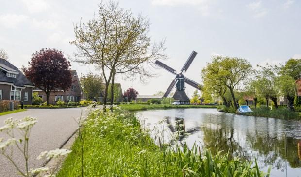 • Een van de molens van de SIMAV, in Bleskensgraaf.