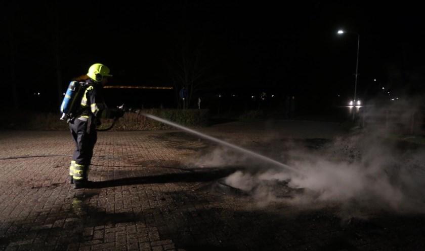 • In de laatste week van december kwamen er meer dan negentig meldingen binnen over brandjes.