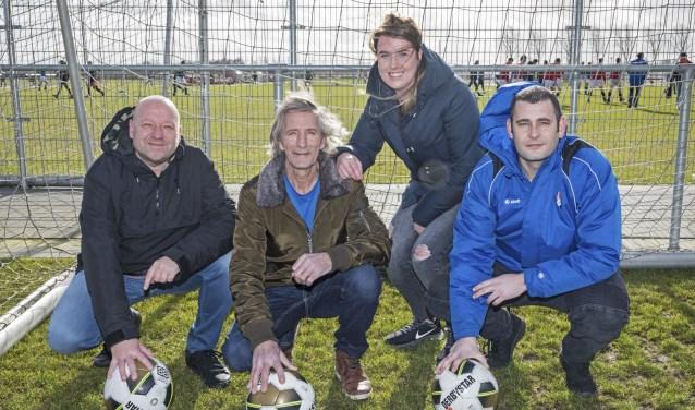 • Deze vier trainers gaan vanaf 12 maart met het G-team aan de slag.