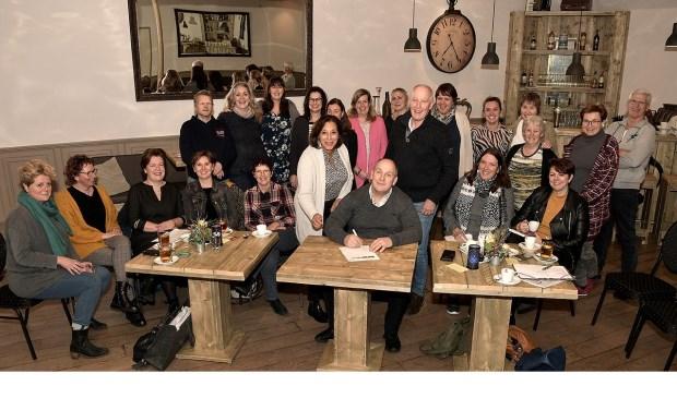 • Ad Scheer en de commissie SamenLoop voor Hoop Krimpenerwaard.