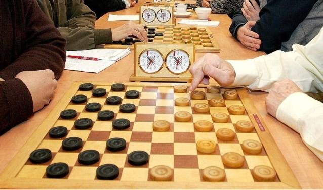 • De dammers van NDV speelden voor de onderlinge competitie.