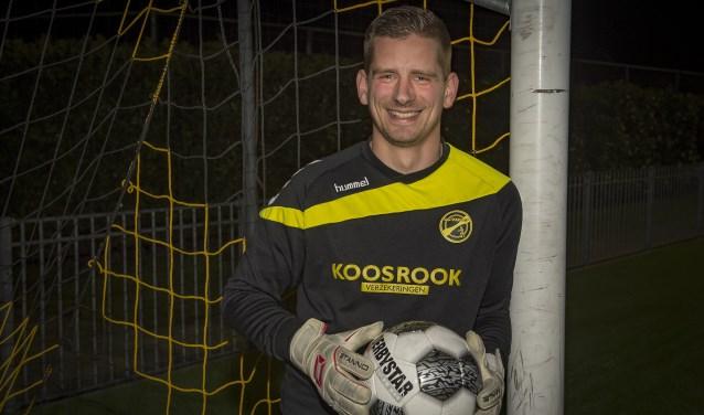 • FC Perkouw-goalie Albert Vente.